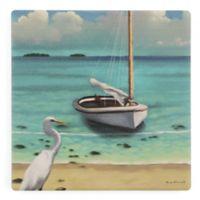 Thirstystone® Sailing Serenity IV Square Single Coaster