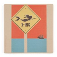 Thirstystone® Dolomite Mermaid Crossing Single Square Coaster