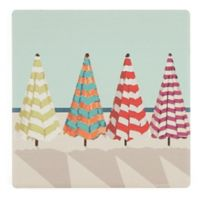 Thirstystone® Dolomite Beach Umbrellas Single Square Coaster