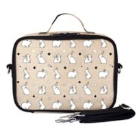 SoYoung Bunny Tile Lunch Box in Black