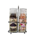 Himalayen Chef Pink Salt & Black Pepper Grinder Set