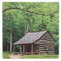 Thirstystone® Dolomite Carter Shields Cabin Square Single Coaster
