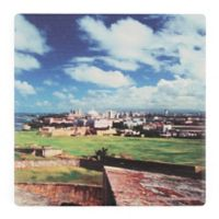 Thirstystone® Dolomite Old San Juan, Puerto Rico Single Square Coaster