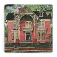 Thirstystone® Dolomite Old Georgia Mansion Single Square Coaster