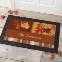 Happy Autumn 20-Inch x 35-Inch Door Mat