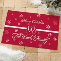 Winter Wonderland 18-Inch x 27-Inch Door Mat