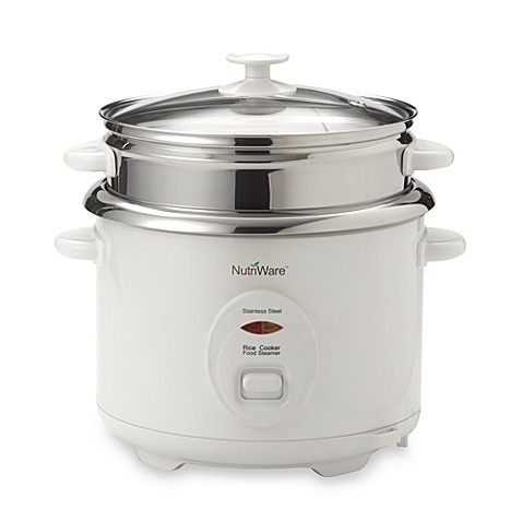 Aroma Nutriware Stainless Steel 8 Cup Rice Cooker Bed Bath Beyond