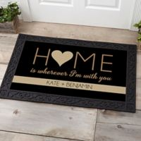 Home With You 20-Inch x 35-Inch Door Mat