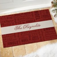 Winter Melody 18-Inch x 27-Inch Door Mat