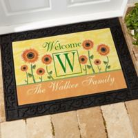 Summer Sunflowers 18-Inch x 27-Inch Door Mat