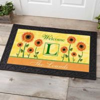 Summer Sunflowers 20-Inch x 35-Inch Door Mat