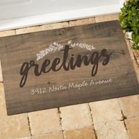 Cozy Home 18-Inch x 27-Inch Door Mat