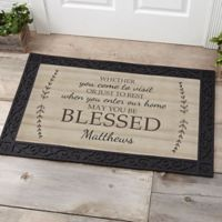 May You Be Blessed 20-Inch x 35-Inch Door Mat