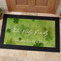 An Irish Welcome 20-Inch x 35-Inch Door Mat