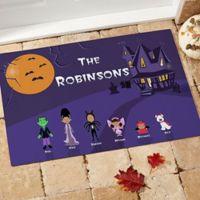 Halloween Character 18-Inch x 27-Inch Door Mat
