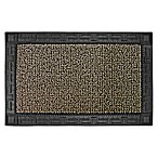 Clean Machine® Omega 24-Inch x 36-Inch Door Mat in Earth Taupe