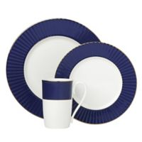 Lenox® Pleated Colors 3-Piece Place Setting in Navy