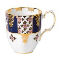 Royal Albert 100 Years 1900 Regency Blue Mug
