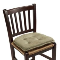Klear Vu Tufted Twillo Gripper® Chair Pad in Thyme