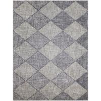 Amer Amanya Checkered 7-Foot 6-Inch x 9-Foot 6-Inch Area Rug in Grey