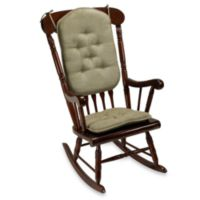 Klear Vu Twillo 2-Piece Rocking Chair Pad Set in Thyme