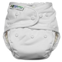 Best Bottom Heavy Wetter One Size All-in-One Diaper in Vanilla