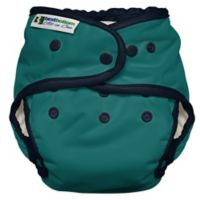 Best Bottom Heavy Wetter One Size All-in-One Diaper in Under the Sea