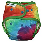 Best Bottom Heavy Wetter One Size All-in-One Diaper in Totally Tie Dye