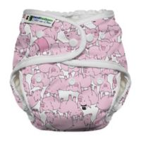 Best Bottom Heavy Wetter One Size All-in-One Diaper in This Little Piggy