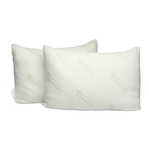 Essence of bamboo rayon made from bamboo infused knit for Bamboo pillow bed bath and beyond