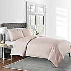 625-Thread-Count Dot King Duvet Cover Set in Blush