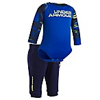 Under Armour® Size 9-12M 2-Piece Accelerate Raglan Bodysuit and Jogger Pant Set in Royal Blue