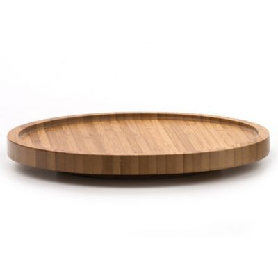 RSVP Natural Bamboo Tool Crock Turntable