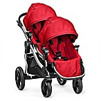 Baby Jogger® City Select® Stroller with Second Seat in Ruby/Silver