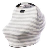 Milk Snob® Multi-Use Car Seat Cover in Cream/Grey Stripe