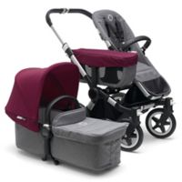Bugaboo Donkey2 Mono Complete Stroller in Grey/Red