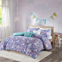 Urban Habitat Kids Lola 5-Piece Reversible Full/Queen Comforter Set in Purple