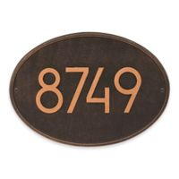 Whitehall Products Hawthorne Modern Wall Plaque in Oil Rubbed Bronze