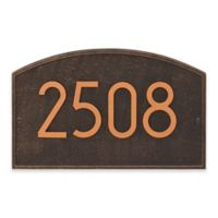 Whitehall Products Legacy Modern Wall Plaque in Oil Rubbed Bronze