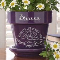Inspiration to Grow Flower Pot
