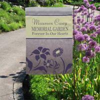 Memorial Garden Garden Flag