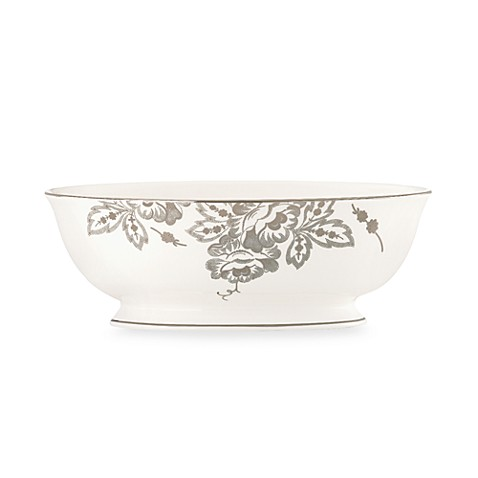 L by Lenox® Floral Waltz 48-Ounce Vegetable Bowl