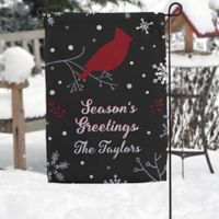 Wintertime Wishes Garden Flag