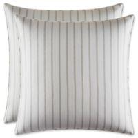 Stone Cottage Camden European Pillow Shams in Grey (Set of 2)