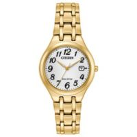 Citizen Corso Ladies' 28mm Watch in Goldtone Stainless Steel
