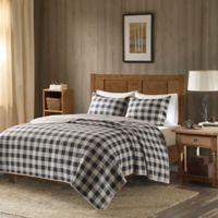 Woolrich® Buffalo Check Oversized Full/Queen Quilt Set in Grey