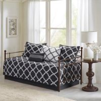 Madison Park Essentials Merritt Reversible Daybed Set in Black