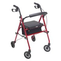 Standard Personal Rollator in Cherry Red