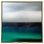 Serene Blue Framed Canvas