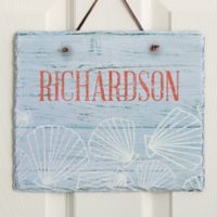 Coastal Home Horizontal Slate Sign